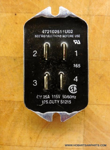 HOBART MIXER 00-271612-00002 ELECTRONIC START SWITCH A120-A200-D300