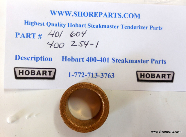 Hobart Steakmaster Tenderizer 400-401 Oil Lite Bearing 401 Part 604, 400 Part 254-1