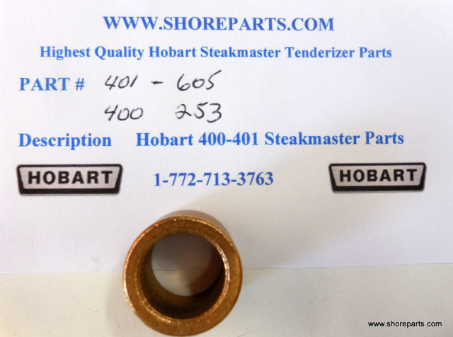 Hobart Steakmaster Tenderizer 400-401 Oil Lite Bearing 401 Part 605, 400 Part 253