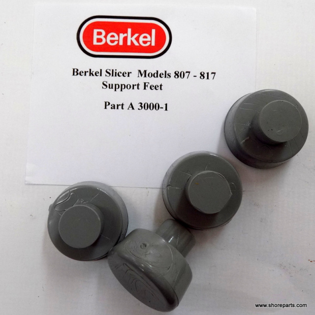 Berkel 807-817 Push In Support Feet A300-1 Sold in Sets of Four