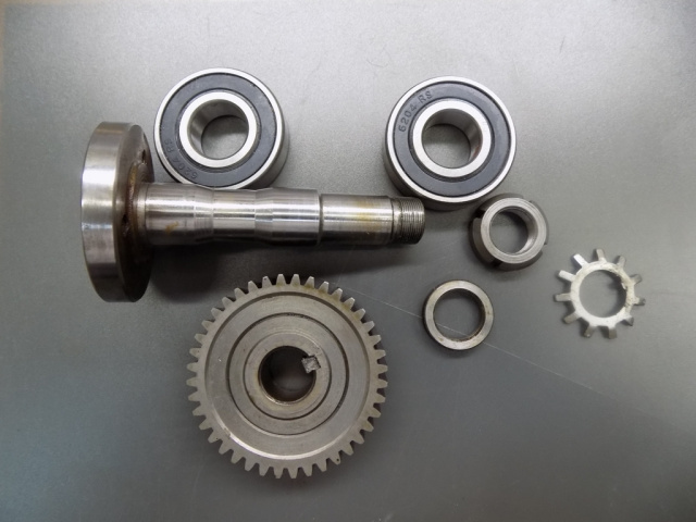 Hobart 8145-84145 Buffalo Chopper Bowl Support Gear & Bearings Repair Kit 116627 Bowl Support Shaft