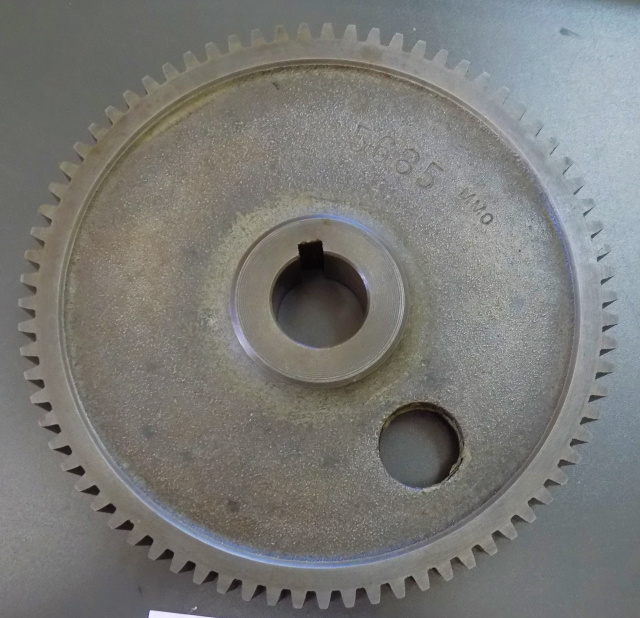 Hobart 8141-84141-84-142-84142 Buffalo Chopper Worm Wheel Gear 75 Tooth Part P-12237 Used