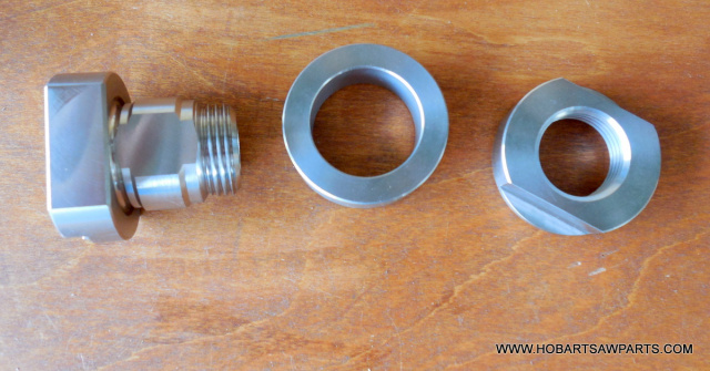"HOBART 71313 71312, 71311 14"" & 18"" BUFFALO CHOPPER KNIFE RETAINING BUSHING, COLLAR & NUT NEW"