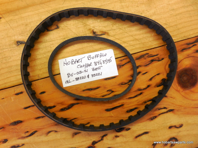 HOBART 84145-8145 BUFFALO CHOPPER DRIVE BELT REPLACEMENT KIT 116634 TIMING BELT - BV-013-21 V BELT