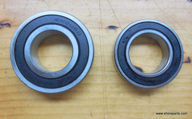 Hobart Buffalo Chopper 8186-84186 Knife Shaft Front Bearing BB-7-39-Rear  Bearing BB-7-52  Kit