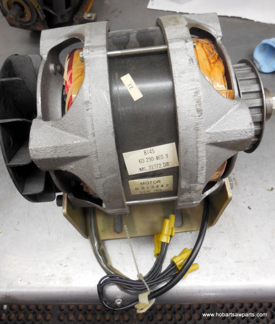 HOBART 8145-84145 3 PHASE ELECTRIC MOTOR USED PART NUMBERS 65478-107-1, 15747-286 ALL ELECTRICAL IS