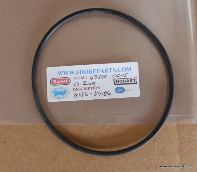 HOBART 8186-84186- KNIFE DRIVE O-RING PARTS 67500-00115