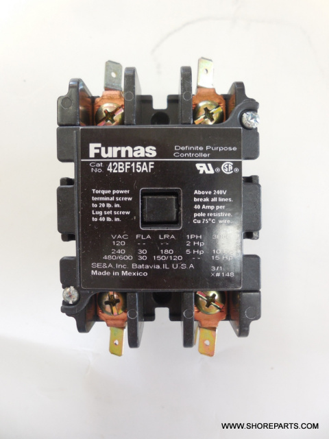 Hobart 8186-84186 Contactor Part 87713-38-2 115 Volts 2 Pole