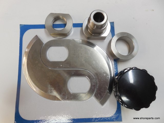 Hobart 8186-84186 Buffalo Chopper Knife Retaining Kit Bushing 71313, Collar 71312, Locking Collar 71