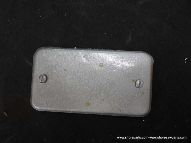 Hobart 8141-84141-84-142-84142 Buffalo Chopper Connection Box Cover Part A-101808 Used
