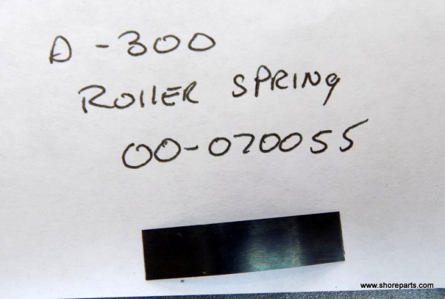 Hobart Mixer D300 Roller Springs 00-070055 New Sold in lots Of 10Ea