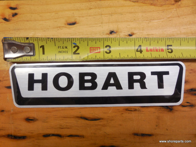HOBART 8186-84186 LOGO-DECAL 5-5/8-INCHES LONG