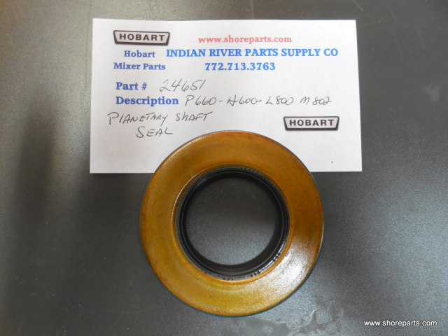Hobart P660, H600-L800, M802 Agitator shaft Seal Part # 24651
