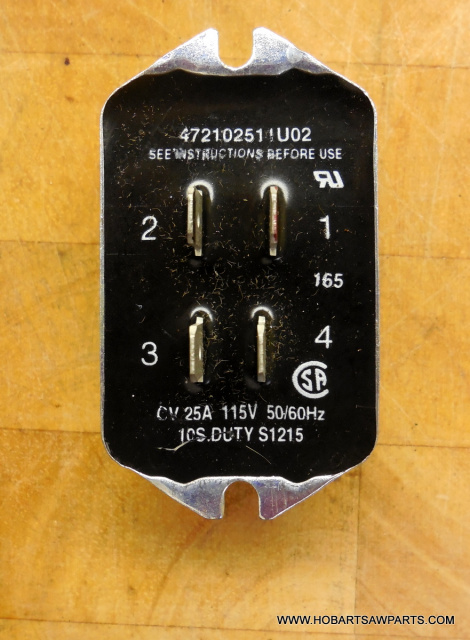 HOBART 2612-2712-2812-2912 CINPAC 4 TAB  ELECTRONIC START SWITCH
