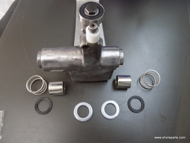 Hobart 512 Meat Slicer Carriage Bushing Repair Kit B-118162 Backup Washer, V-21046-3 Rubber Bumper,
