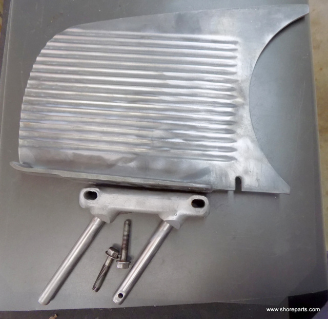 Hobart Slicer Aluminum Gauge Plate No Split Seems With This Item Part # E-109656  Will Fit Models 16