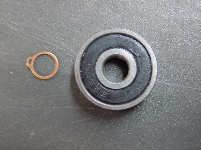 HOBART  BB-4-11 CARRIAGE ROD BEARING RR-9-15 Retaining Ring FOR MODELS 1612, 1712, 1612E- 1712-E 181