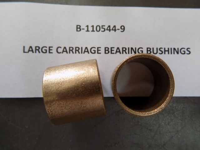 Hobart 410 Slicer Carriage Slide Bushing B-11054-9 New Sold in Pairs