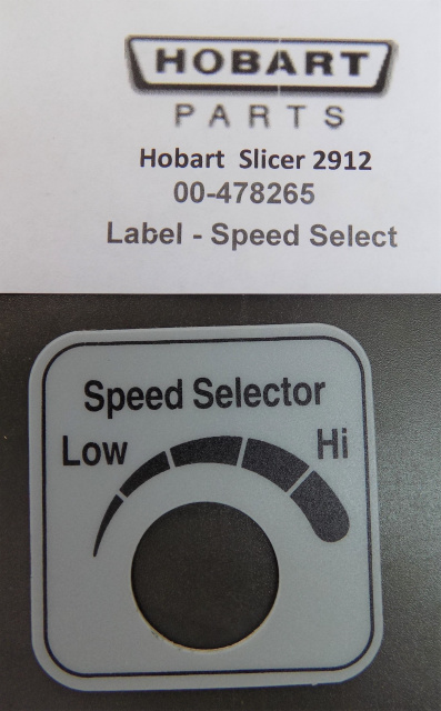 Hobart Slicer 2912 Automatic Hi- Low Speed Selector 00-478265