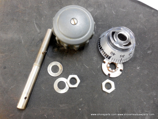 Hobart 2612-2712-2812-2912 Used Indexing kit with 00-076948 Disk, 00-438890 Camshaft, 00-875348 Knob