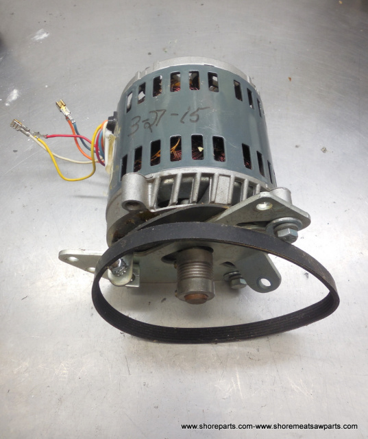 Hobart 2612-2712-2812-2912 Used Replacement Motor Part # 00-438846-00001 Complete with New Drive Bel