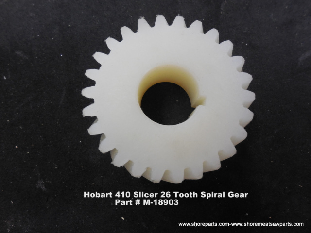 Hobart Model 410 Slicer 26 Tooth Spiral Drive Gear Part M-18903 NEW