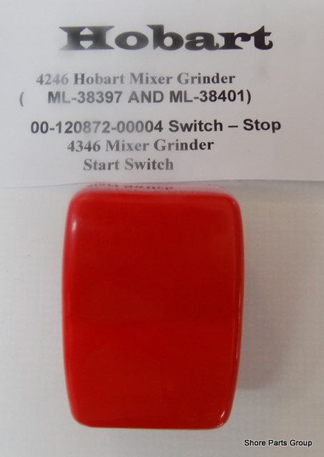 Hobart 4246-4346 Mixer Grinder 00-120872-00004 Stop Switch
