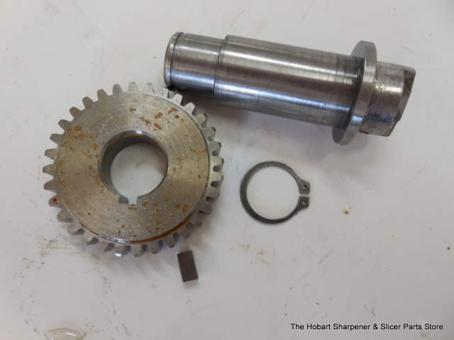 Toledo Tenderizer, Rear Knife Drive Gear & Stub Used