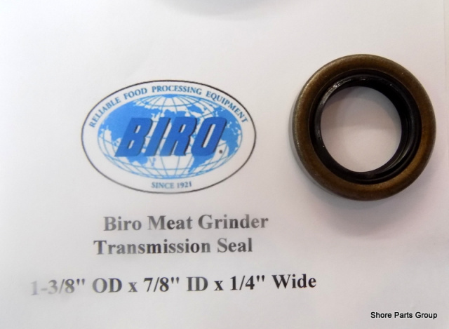 "Biro Meat Grinder Transmission Seal 1-3/8"" OD x 7/8"" ID x 1/4"" Wide"
