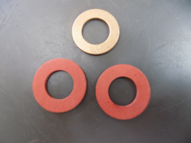 Berkel E222 Meat Grinder Thrust Washer 01-4000E-01993-Pair Fiber Washers 01-402275-00567 kit
