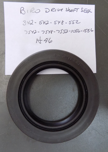 Biro HS46 Drive Shaft Seal For Models 342-542-548-552-7542-7548-7552-1056-1556