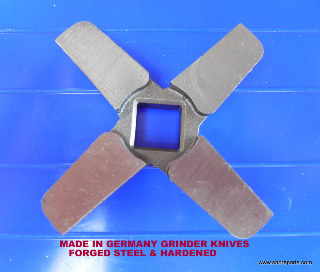 Berkel E222 Grinder Knife 01-4K4022-00002 German Made  HOBART STYLE 00-290372  GERMAN MADE MEAT GRIN